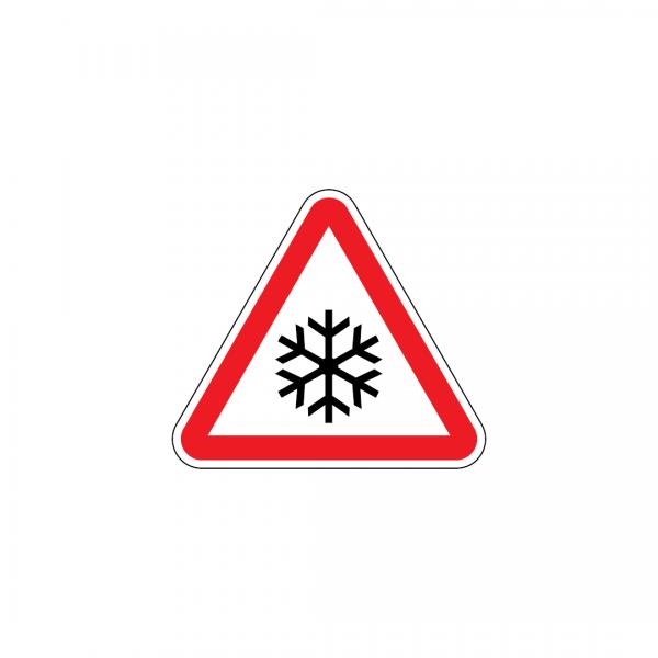 A11 - Neve ou gelo - Sinais de Perigo