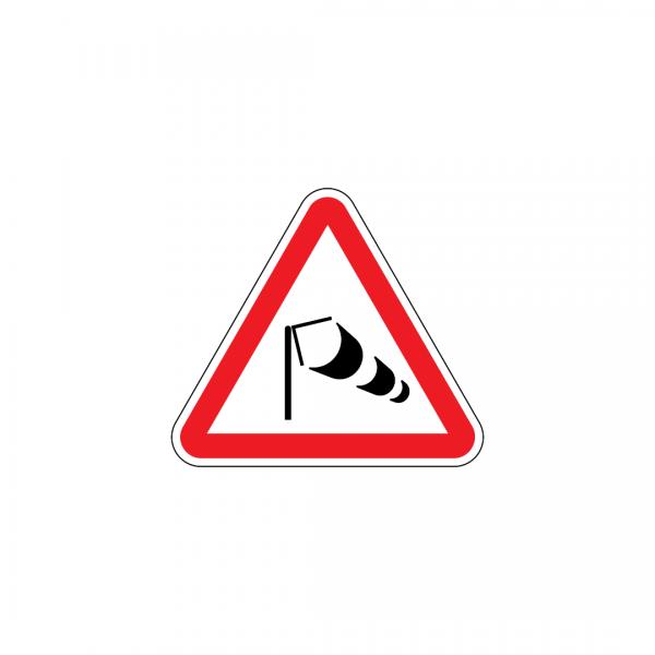 A12 - Vento lateral - Sinais de Perigo