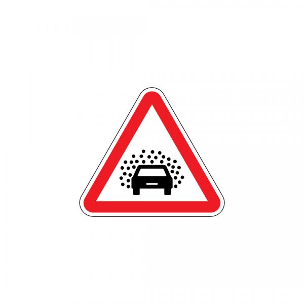 A13 - Visibilidade insuficiente - Sinais de Perigo
