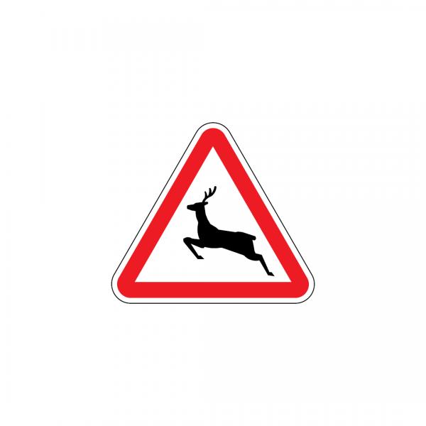 A19B - Animais selvagens - Sinais de Perigo