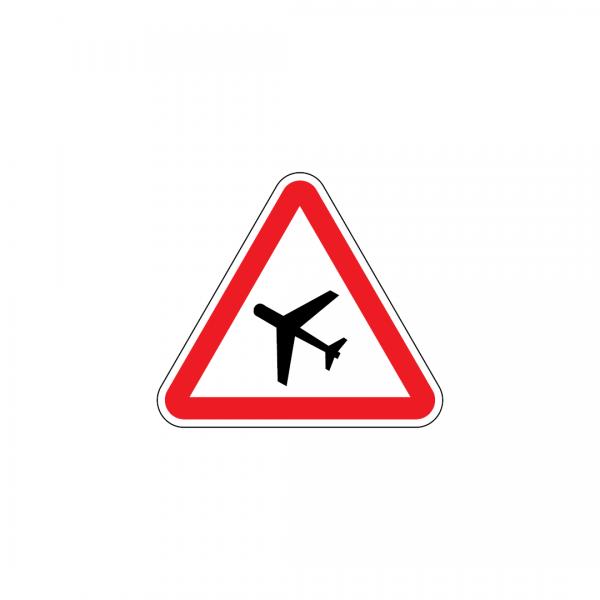 A21 - Pista de aviação - Sinais de Perigo