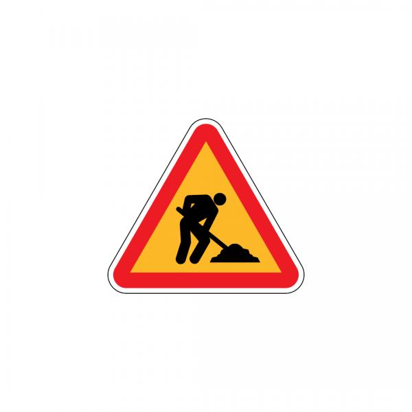 A23 - Trabalhos na via - Sinais de Perigo