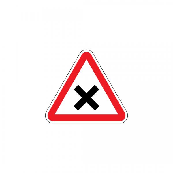 A24 - Cruzamento ou entroncamento - Sinais de Perigo