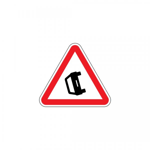 A31 - Obstrução da via - Sinais de Perigo