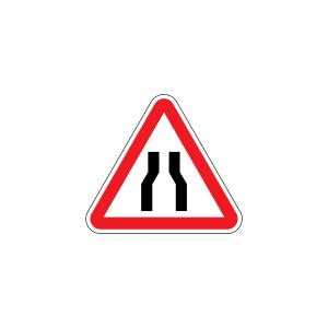 A4A - Passagem estreita - Sinais de Perigo