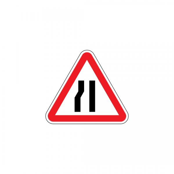 A4B - Passagem estreita - Sinais de Perigo