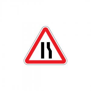 A4C - Passagem estreita - Sinais de Perigo