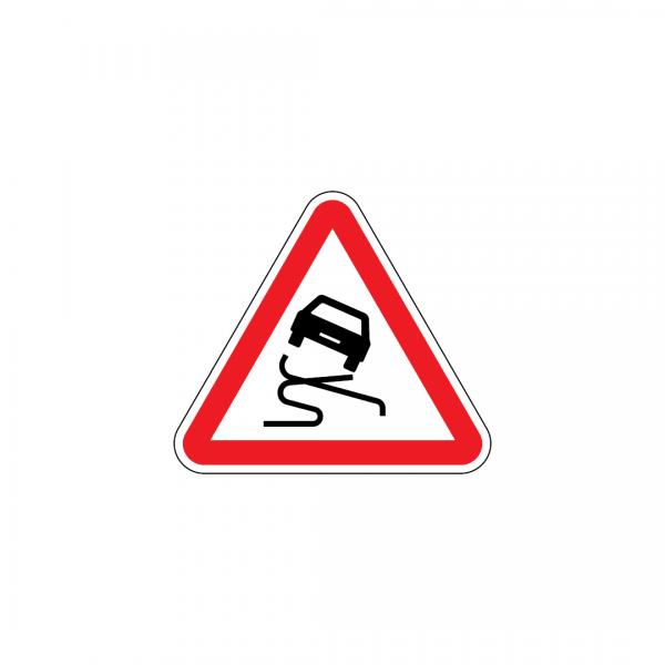A5 - Pavimento escorregadio - Sinais de Perigo