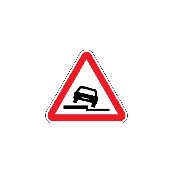 A7A - Bermas baixas - Sinais de PerigoA7A - Bermas baixas - Sinais de Perigo