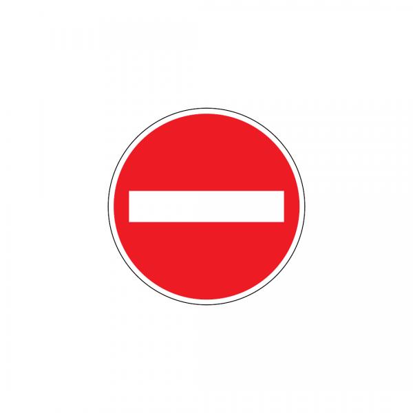 C1 - Sentido proibido - Sinais de Proibição