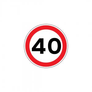 C13 - Proibição de exceder a velocidade máxima de … Quilómetros por hora - Sinais de Proibição