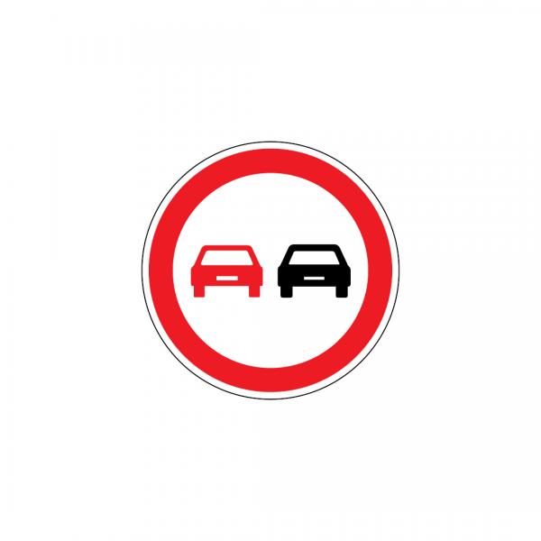 C14A - Proibição de ultrapassar - Sinais de Proibição