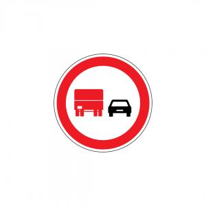 C14B - Proibição de ultrapassar para automóveis pesados - Sinais de Proibição