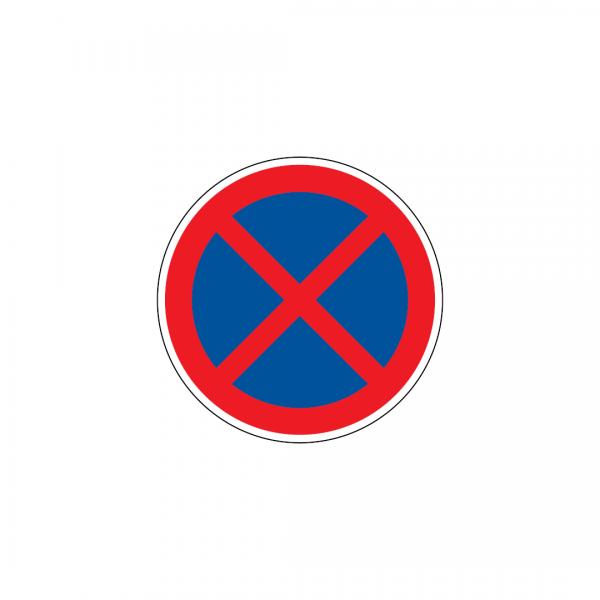 C16 - Paragem e estacionamento proibidos - Sinais de Proibição