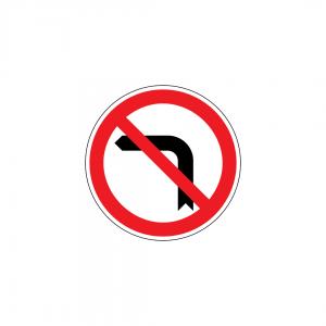 C11B - Proibição de virar à esquerda - Sinais de Proibição