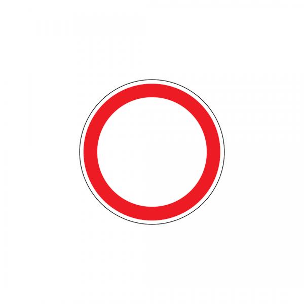 C2 - Trânsito proibido - Sinais de Proibição