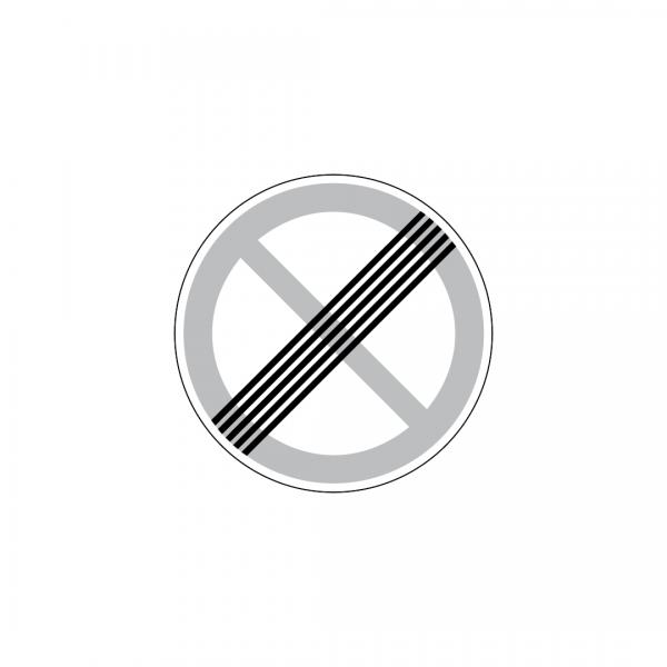 C21 - Fim da paragem ou estacionamento proibidos - Sinais de Proibição