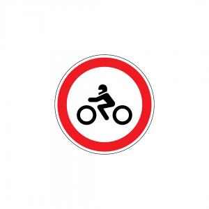 C3E - Trânsito proibido a motociclos simples - Sinais de Proibição