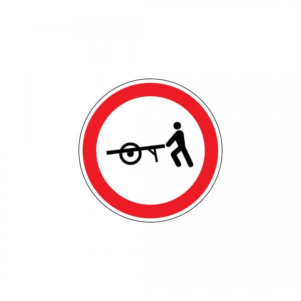 C3J - Trânsito proibido a carros de mão - Sinais de Proibição
