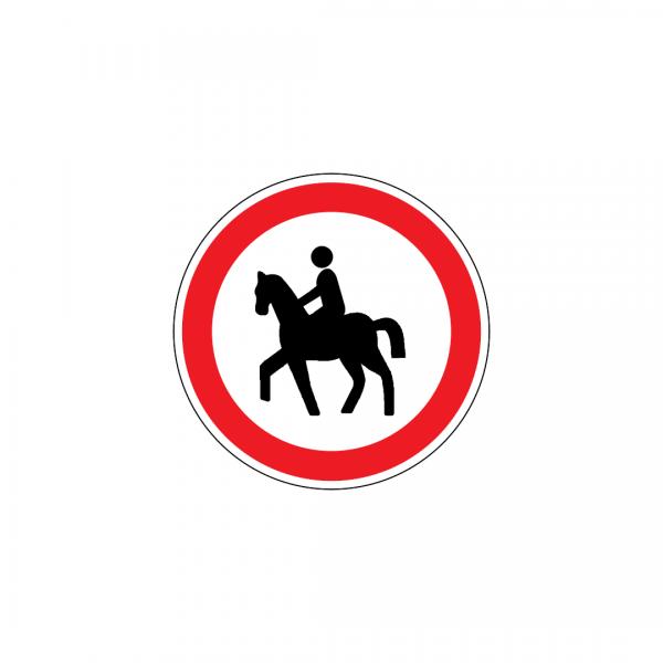 C3M - Trânsito proibido a cavaleiros - Sinais de Proibição