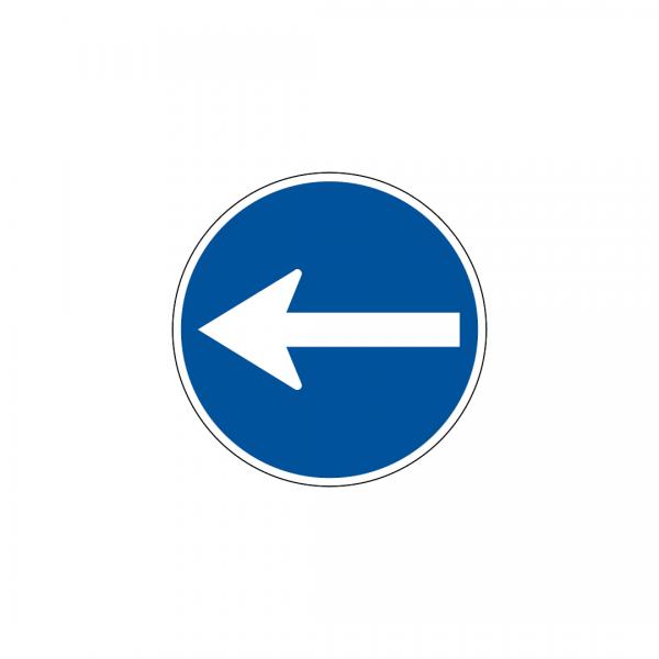 D1B - Sentido obrigatório - Sinais de Obrigação