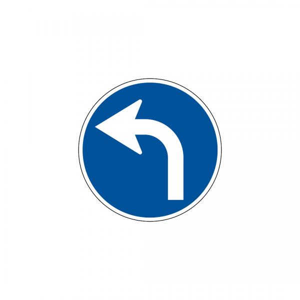 D1D - Sentido obrigatório - Sinais de Obrigação