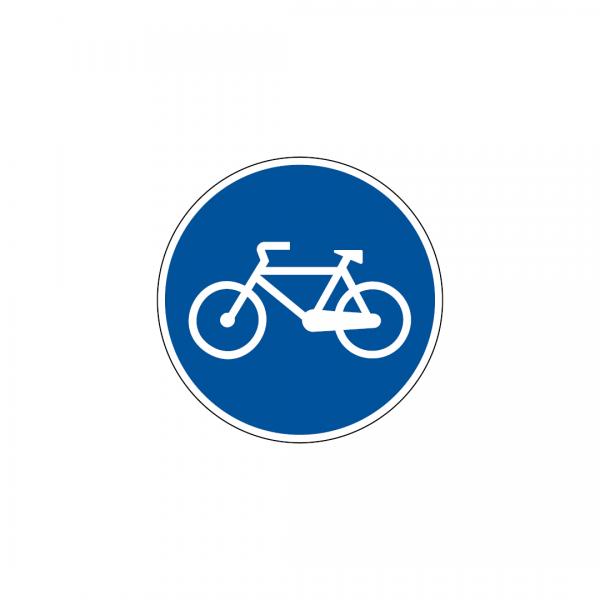 D7A - Pista obrigatória para velocípedes - Sinais de Obrigação