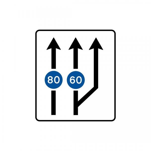 F1A - Aplicação de prescrição a via de trânsito - Sinais de Afetação de Vias