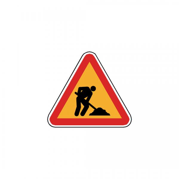 AT1-A23 - Trabalhos na via - AT | Sinais de Perigo