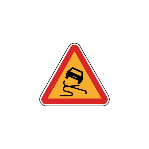 AT11-A5 - Pavimento escorregadio - AT | Sinais de Perigo