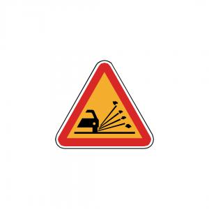 AT12-A6 - Projeção de gravilha - AT | Sinais de Perigo