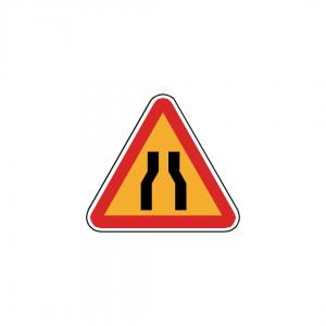 AT7/A4A - Passagem estreita - AT | Sinais de Perigo