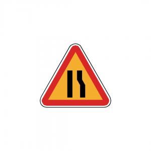 AT9-A4C - Passagem estreita - AT | Sinais de Perigo