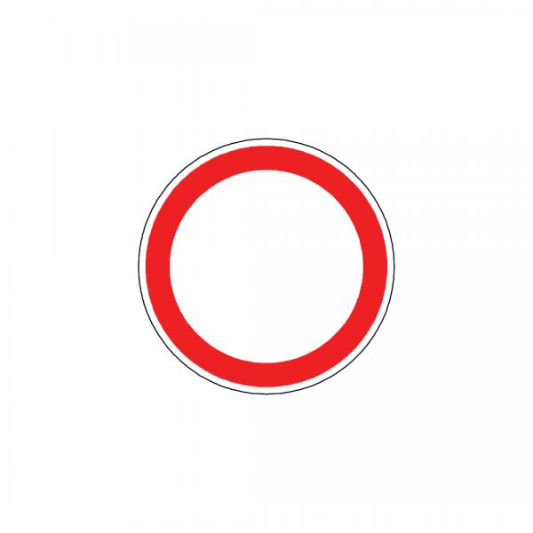 BT1-C2 - Trânsito proibido - BT | Sinais de Proibição