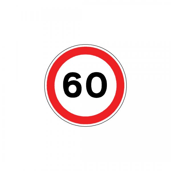 BT8-C13 - Proibição de exceder velocidade máxima de …Km por hora - BT | Sinais de Proibição