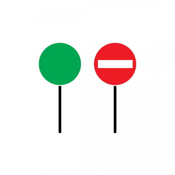 ET1 - Raquetas de sinalização - Dispositivos Complementares
