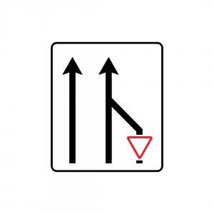 F1B - Aplicação de prescrição a via de trânsito - Sinais de Afetação de Vias