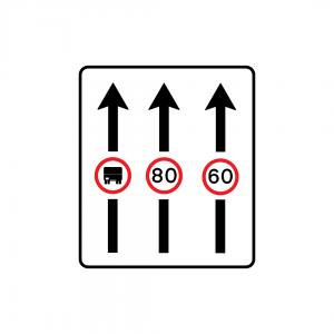 F1C - Aplicação de prescrição a via de trânsito - Sinais de Afetação de Vias