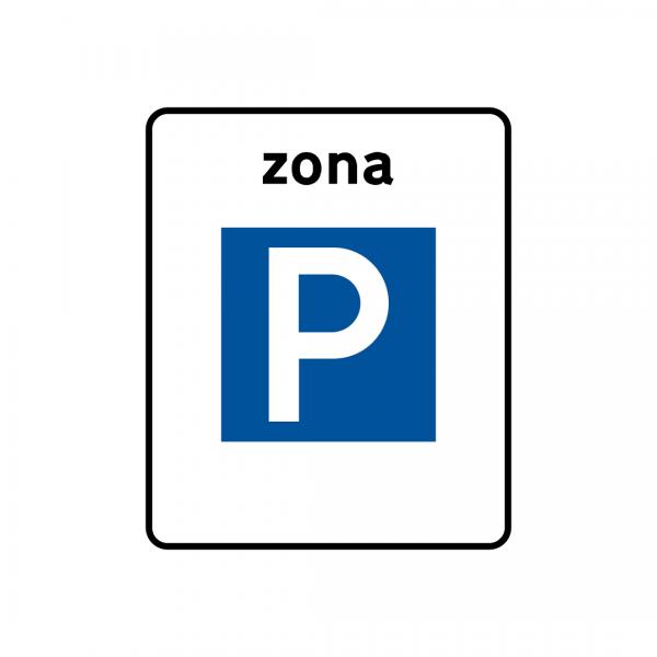 G1 - Zona de estacionamento - Sinais de Zona
