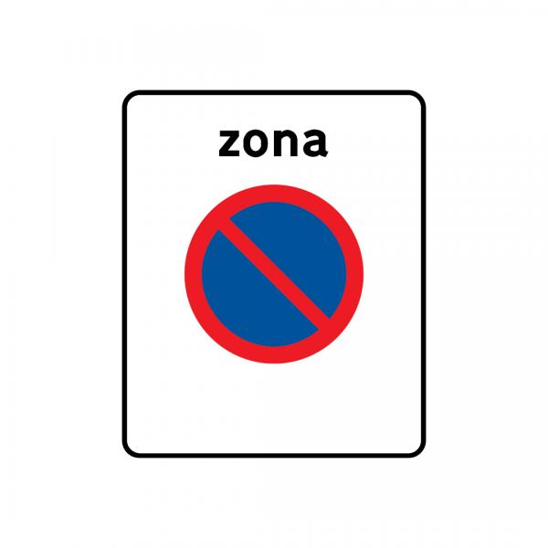 G2A - Zona de estacionamento proibido - Sinais de Zona