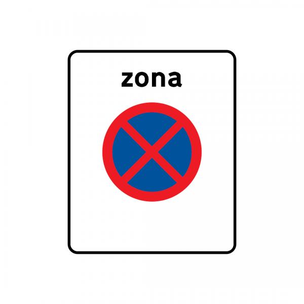 G3 - Zona de paragem e estacionamento proibidos - Sinais de Zona