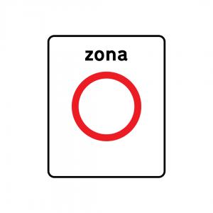 G5A - Zona de trânsito proibido - Sinais de Zona
