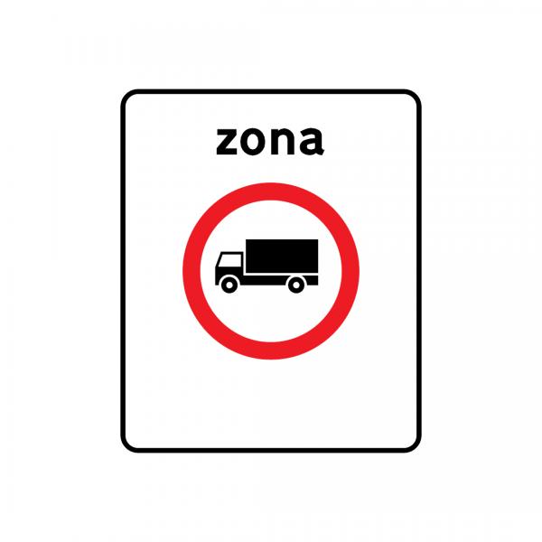G5B - Zona de trânsito proibido - Sinais de Zona