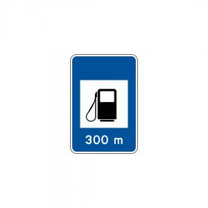 H13A - Posto de abastecimento de combustível - Sinais de Informação