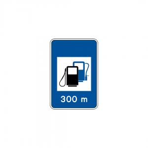 H13B - Posto de abastecimento de combustível com GPL - Sinais de Informação