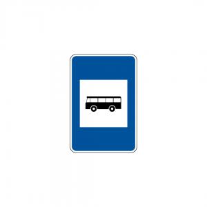 H20A - Paragem de veículos de transporte coletivo de passageiros - Sinais de Informação