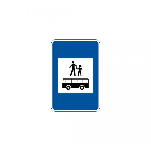 H20C - Paragem de veículos afetos ao transporte de crianças - Sinais de Informação