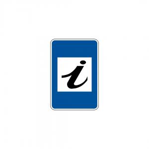 H22 - Posto de informações - Sinais de Informação