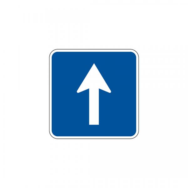 H3 - Trânsito de sentido único - Sinais de Informação
