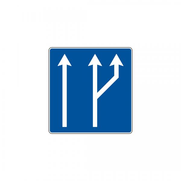 H31A - Número e sentido das vias de trânsito - Sinais de Informação